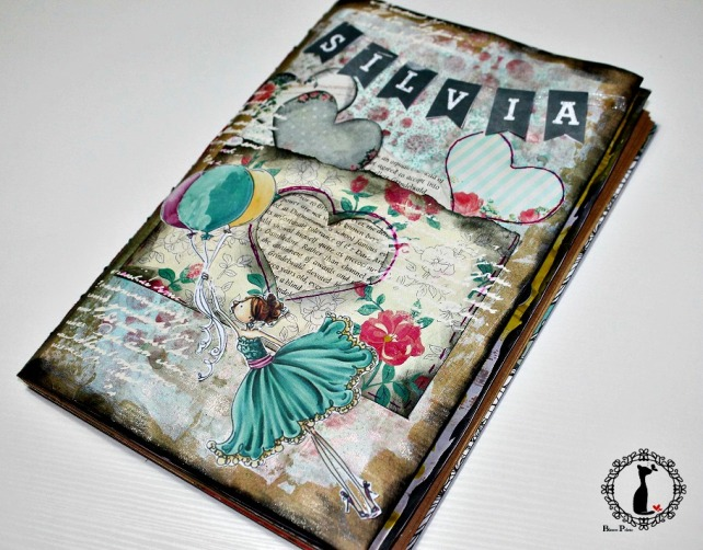 álbum diario MixedMedia Cinderella