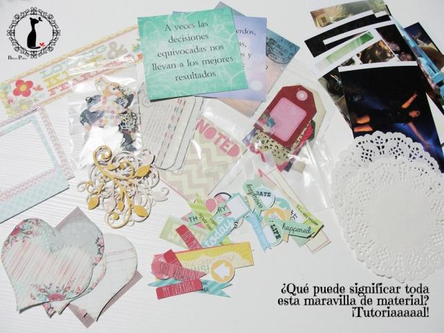 tercer tutorial Album DiarioMixedMedia Cinderella 1