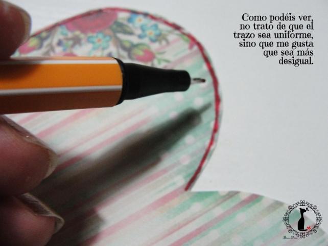 tercer tutorial Album DiarioMixedMedia Cinderella 10