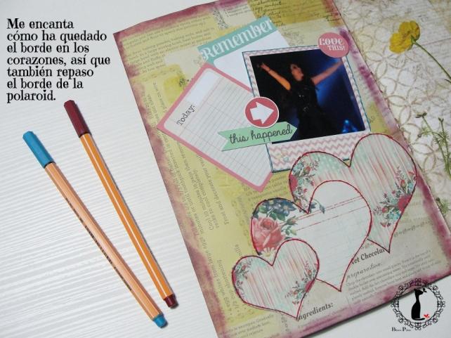 tercer tutorial Album DiarioMixedMedia Cinderella 11