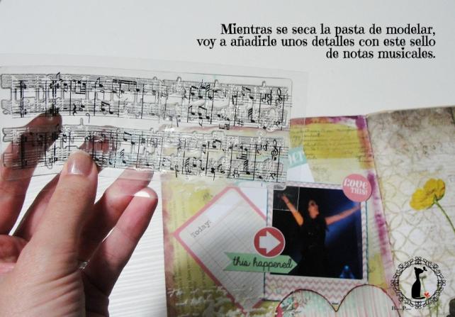 tercer tutorial Album DiarioMixedMedia Cinderella 14