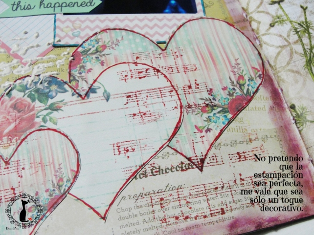tercer tutorial Album DiarioMixedMedia Cinderella 15