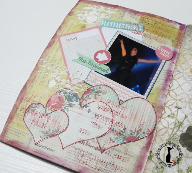 tercer tutorial Album DiarioMixedMedia Cinderella 16