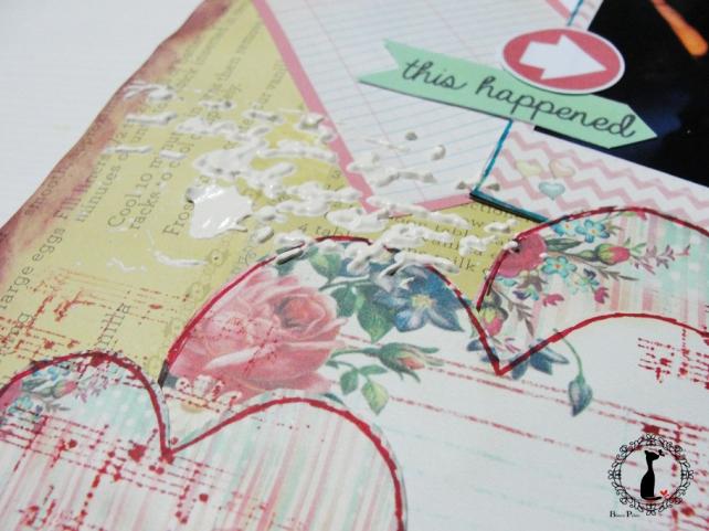 tercer tutorial Album DiarioMixedMedia Cinderella 17