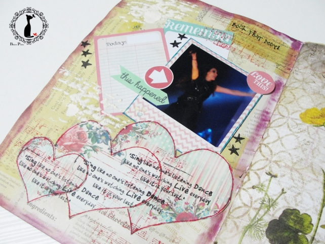tercer tutorial Album DiarioMixedMedia Cinderella 19