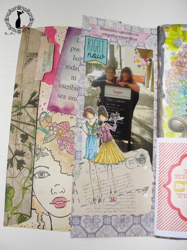 tercer tutorial Album DiarioMixedMedia Cinderella 3