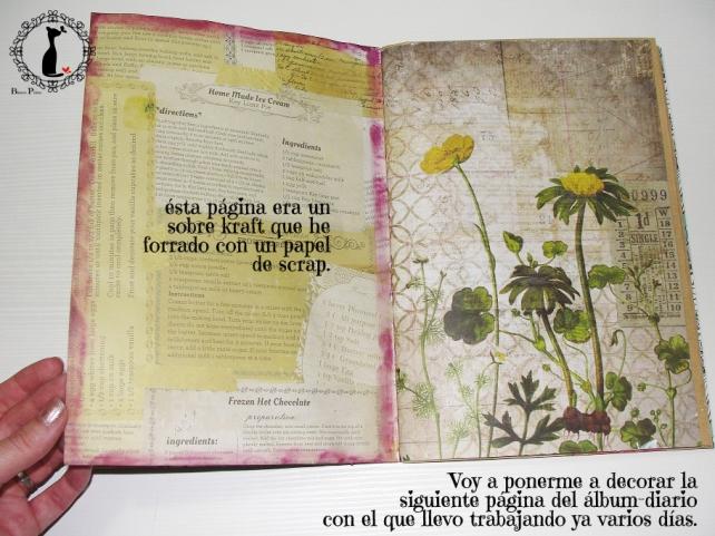 tercer tutorial Album DiarioMixedMedia Cinderella 4