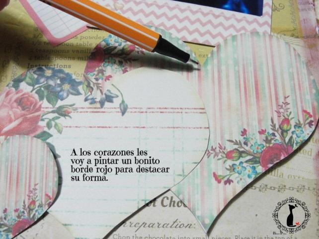 tercer tutorial Album DiarioMixedMedia Cinderella 9