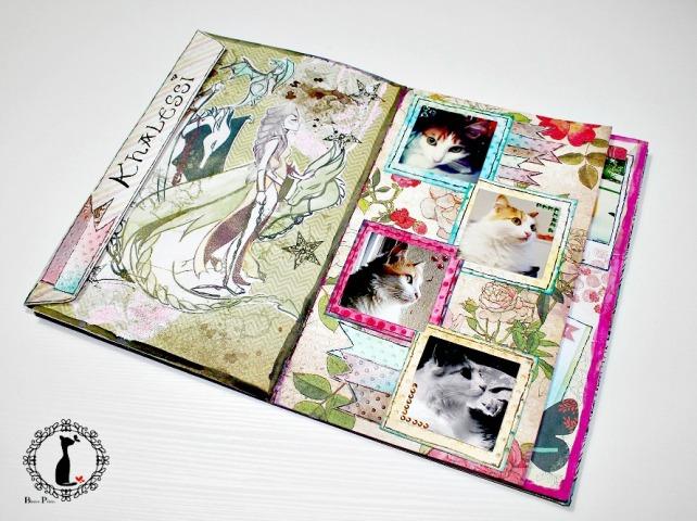 Tutorial 5 ÁlbumCuaderno MixedMedia Cinderella 30
