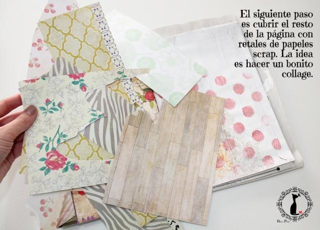 Tutorial 7-Álbum Cuaderno MixedMedia Cinderella 11