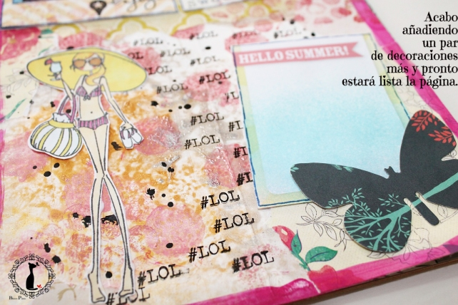 Tutorial 7-Álbum Cuaderno MixedMedia Cinderella 25