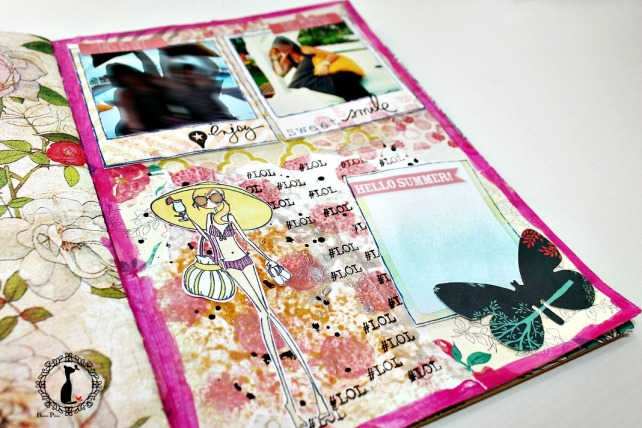 Tutorial 7-Álbum Cuaderno MixedMedia Cinderella 27