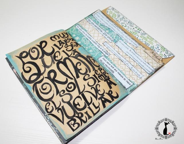 Tutorial 8 - Album Cuaderno MixedMedia Cinderella 15