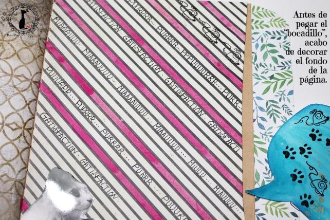 Tutorial 8 - Album Cuaderno MixedMedia Cinderella 24