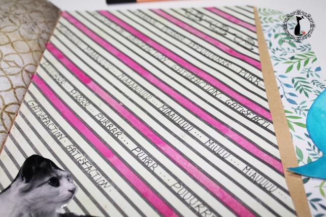 Tutorial 8 - Album Cuaderno MixedMedia Cinderella 25