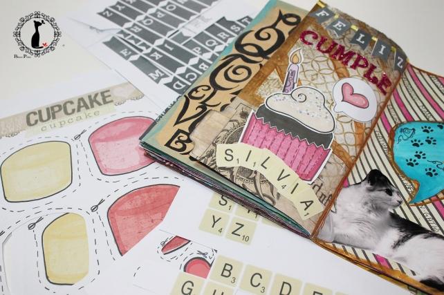Tutorial 8 - Album Cuaderno MixedMedia Cinderella 29