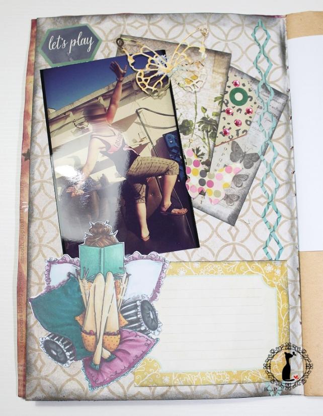 Tutorial AlbumCuaderno MixedMedia Cinderella 10