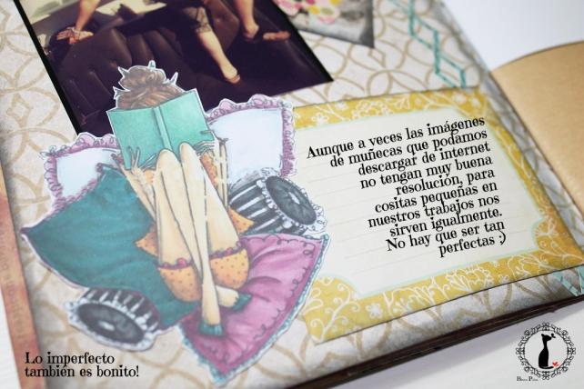 Tutorial AlbumCuaderno MixedMedia Cinderella 11