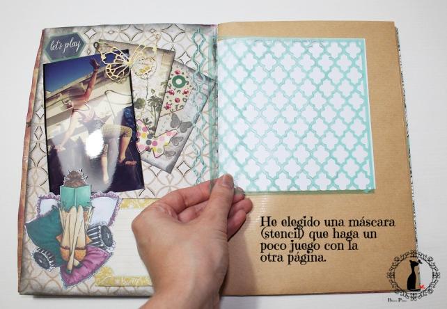 Tutorial AlbumCuaderno MixedMedia Cinderella 15