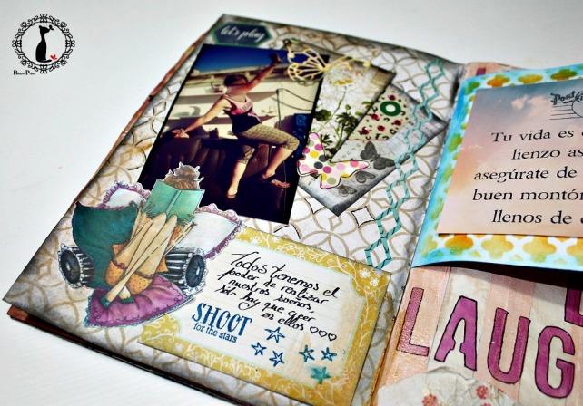 Tutorial AlbumCuaderno MixedMedia Cinderella 43