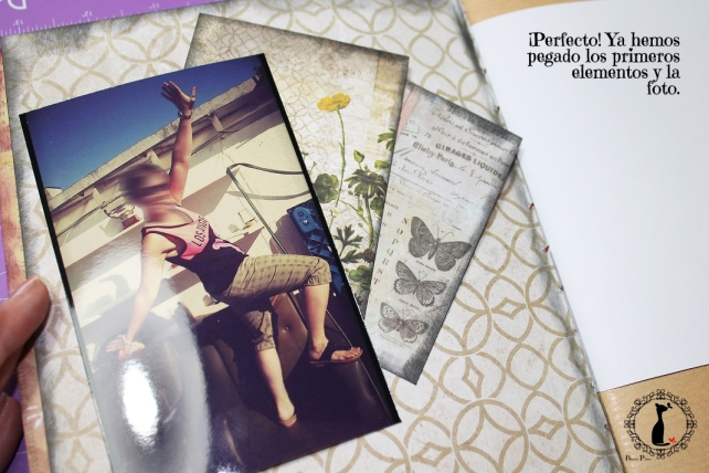 Tutorial AlbumCuaderno MixedMedia Cinderella 7