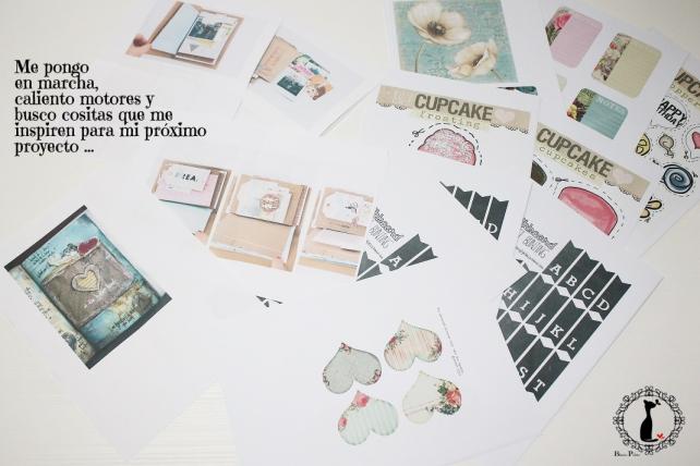 Tutorial Cinderella - Álbum Cuaderno Mixed Media 1