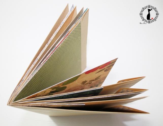 Tutorial Cinderella - Álbum Cuaderno Mixed Media 10