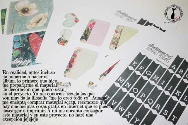 Tutorial Cinderella - Álbum Cuaderno Mixed Media 11