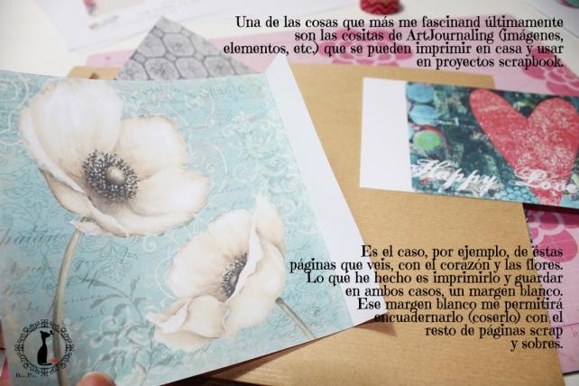 Tutorial Cinderella - Álbum Cuaderno Mixed Media 12