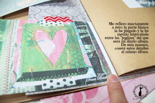 Tutorial Cinderella - Álbum Cuaderno Mixed Media 13