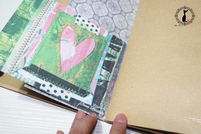 Tutorial Cinderella - Álbum Cuaderno Mixed Media 20
