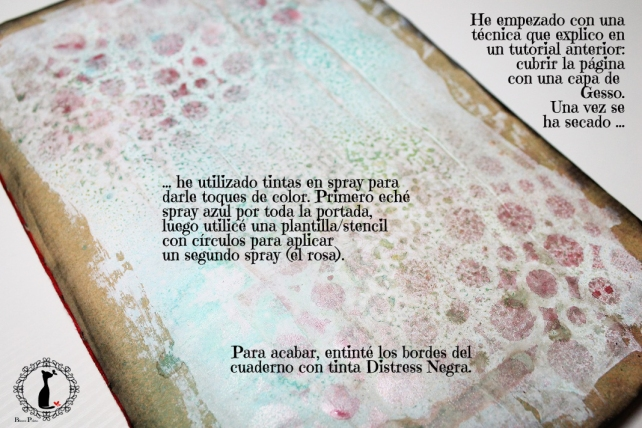 Tutorial Cinderella - Álbum Cuaderno Mixed Media 22