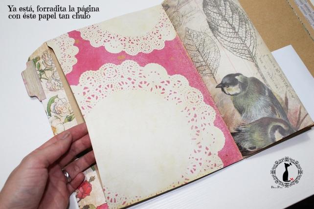 Tutorial Cinderella - Álbum Cuaderno Mixed Media 34