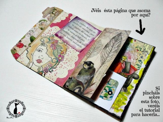 Tutorial Cinderella - Álbum Cuaderno Mixed Media 38