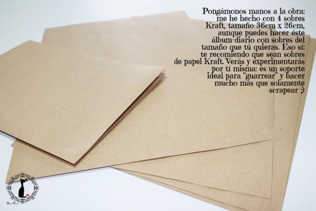 Tutorial Cinderella - Álbum Cuaderno Mixed Media 4