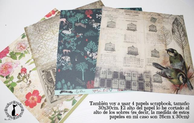 Tutorial Cinderella - Álbum Cuaderno Mixed Media 5