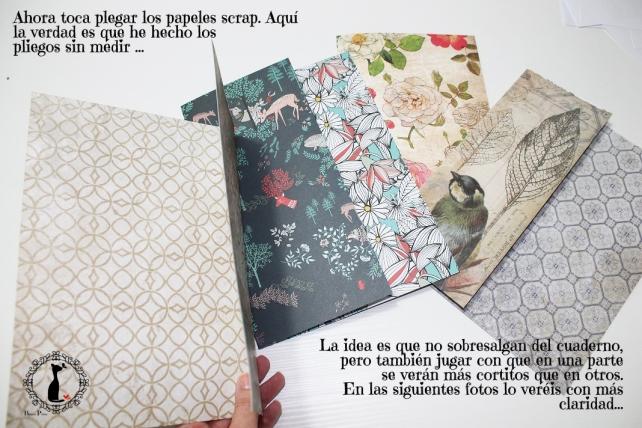 Tutorial Cinderella - Álbum Cuaderno Mixed Media 8