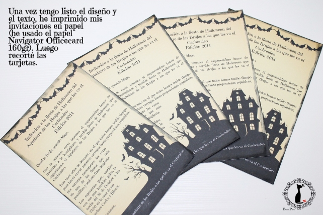 Tutorial Tarjetas halloween 2
