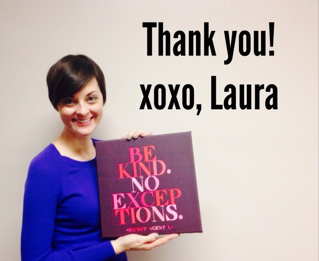 laura miller - thanks for be kind with no exceptions