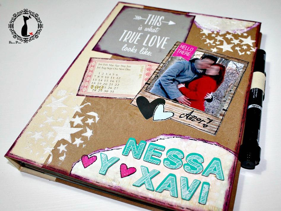 tutorial libro firmas para boda con fotos