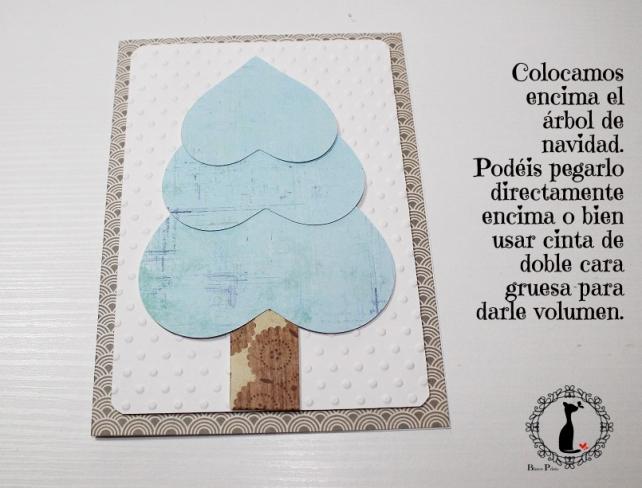 Tutorial tarjetas navidad Cinderella 20