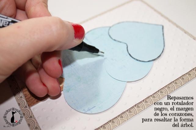 Tutorial tarjetas navidad Cinderella 21