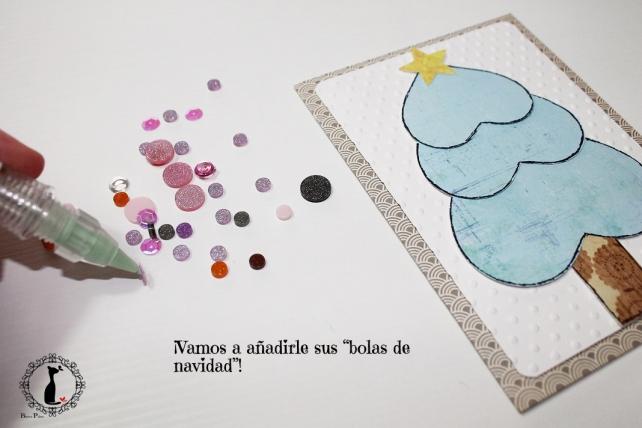 Tutorial tarjetas navidad Cinderella 22