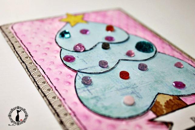 Tutorial tarjetas navidad Cinderella 27