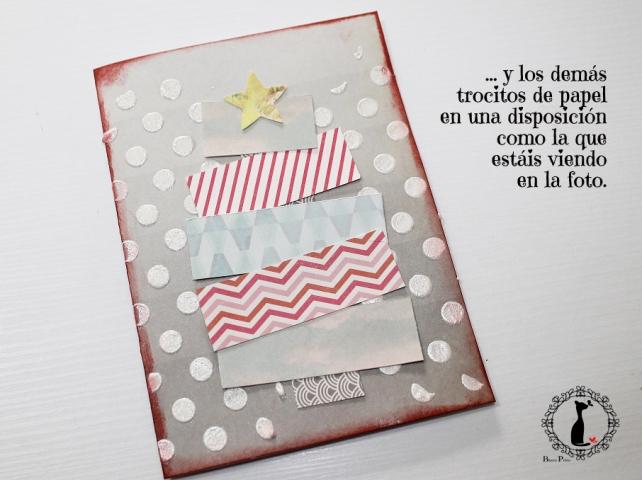 Tutorial tarjetas navidad Cinderella 36
