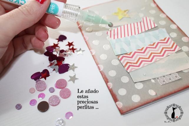 Tutorial tarjetas navidad Cinderella 37
