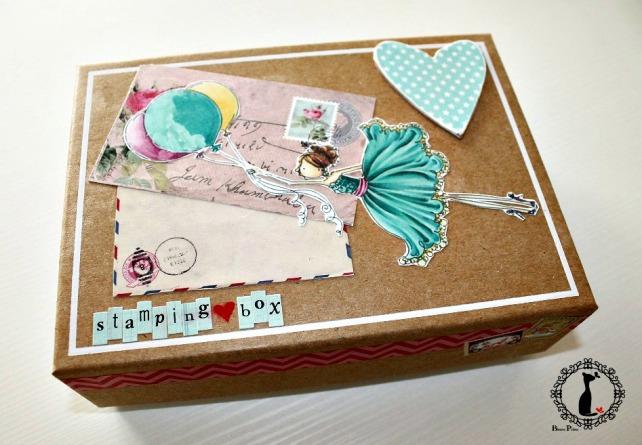 Tutorial tarjetas navidad Cinderella 4