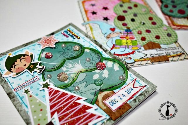 Tutorial tarjetas navidad Cinderella 41