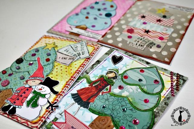 Tutorial tarjetas navidad Cinderella 42