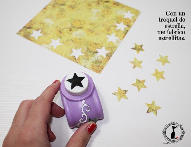 Tutorial tarjetas navidad Cinderella 9